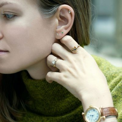 British-designer-Lena-Cohen-luxury-piercing-jewellery-high-quality-cartilage-earrings-materials-london-based-craftsmanship-london
