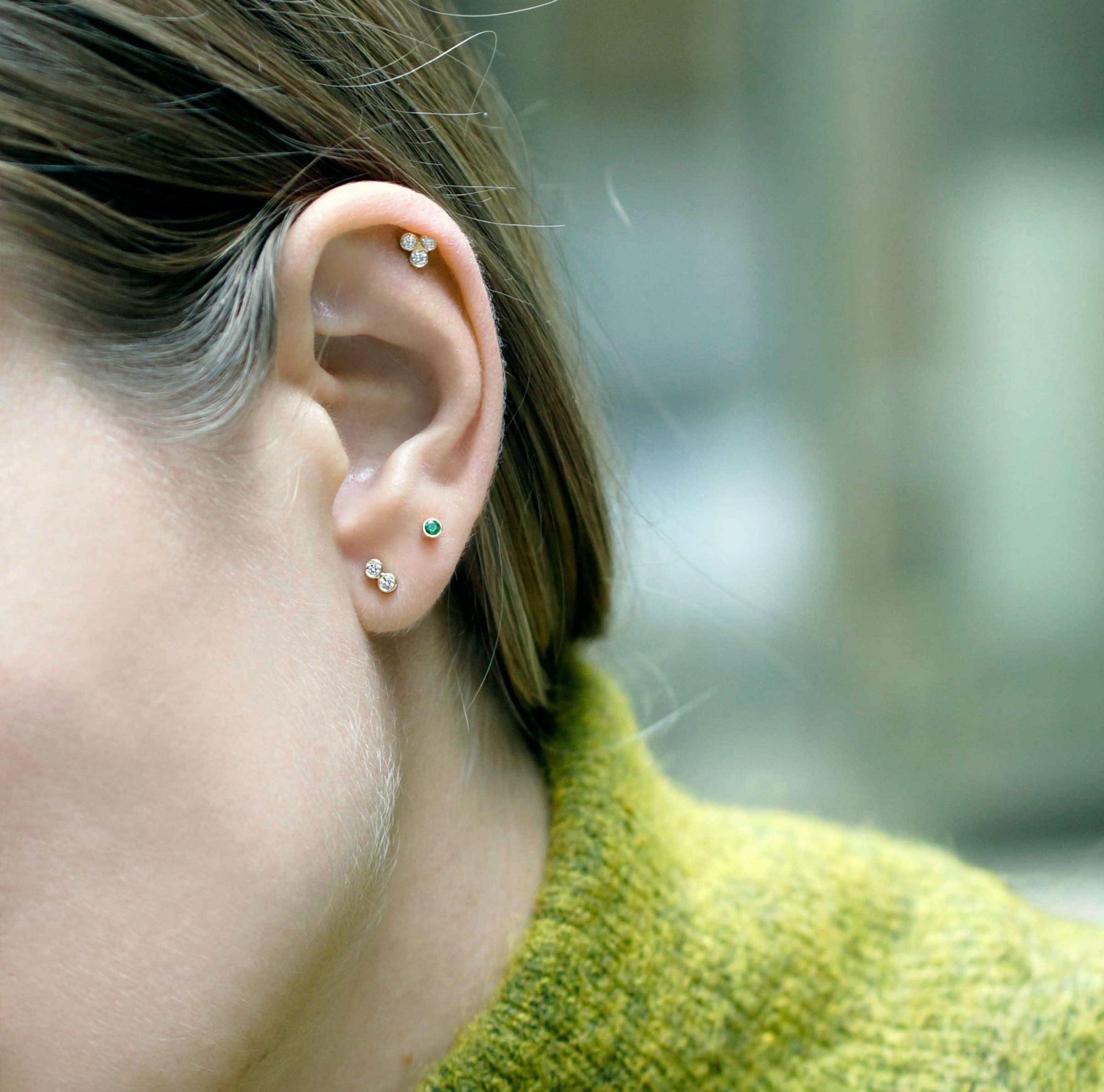 Create-your-own-curated-ear–with-this-versatile-helix-tragus-cartilage–diamond-stud-piercing-earring-lena-cohen-jewellery
