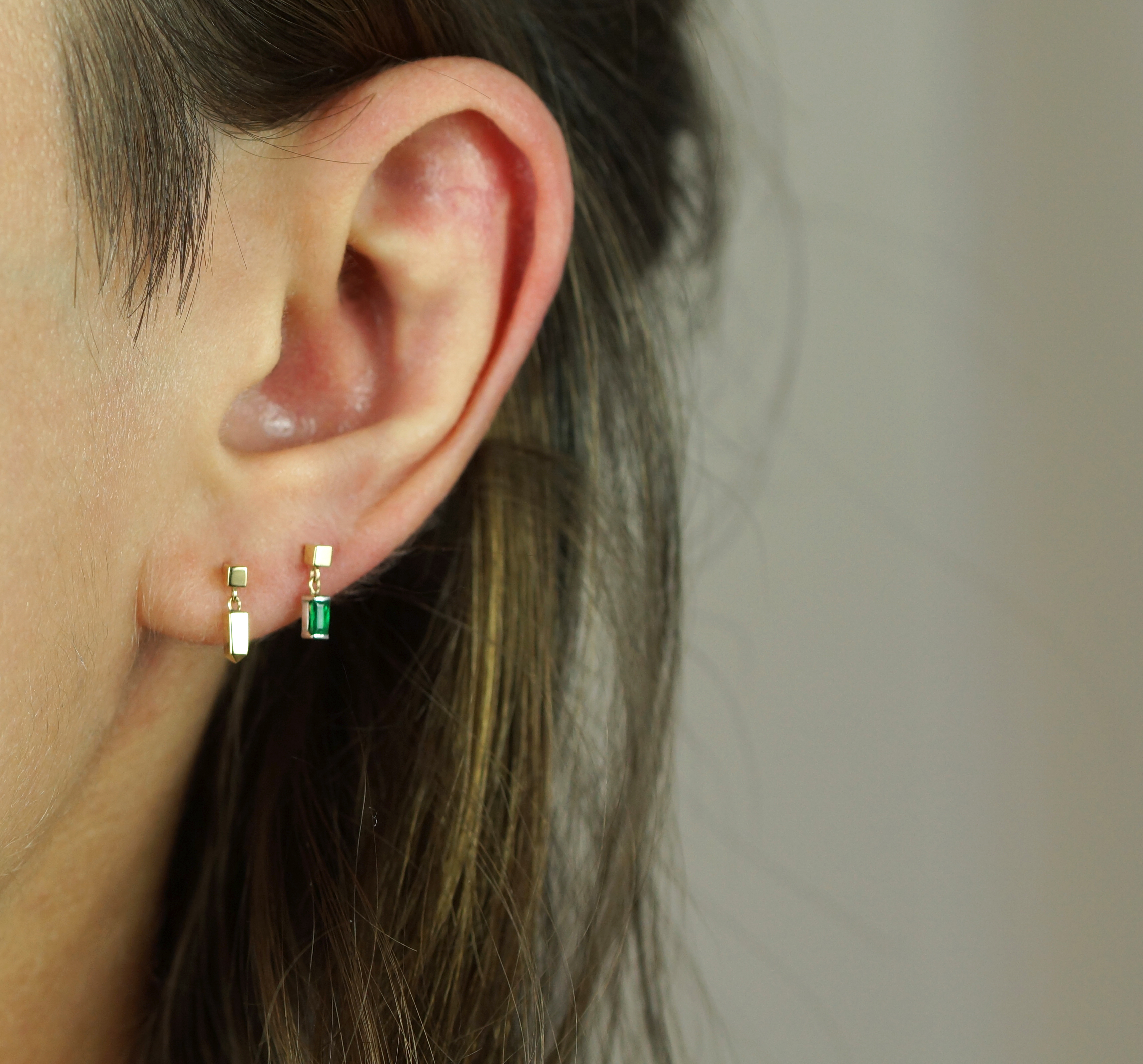 Ear Styling with Piercing Jewellery by Lena Cohen