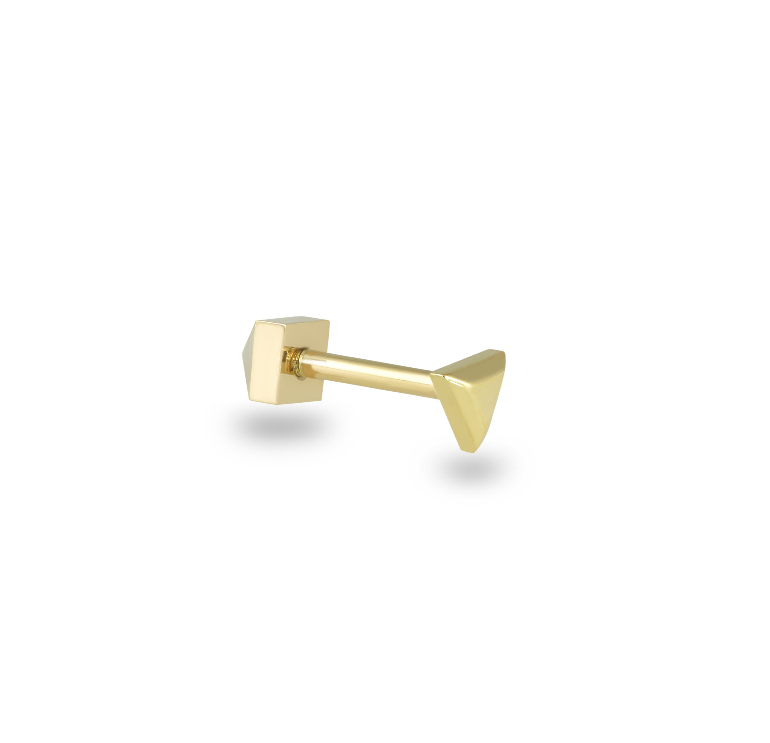 luxury-piercing-plain-gold-studs-modern-geometric-urban-style–screw-backs-gold-buy-online-lena-cohen-uk