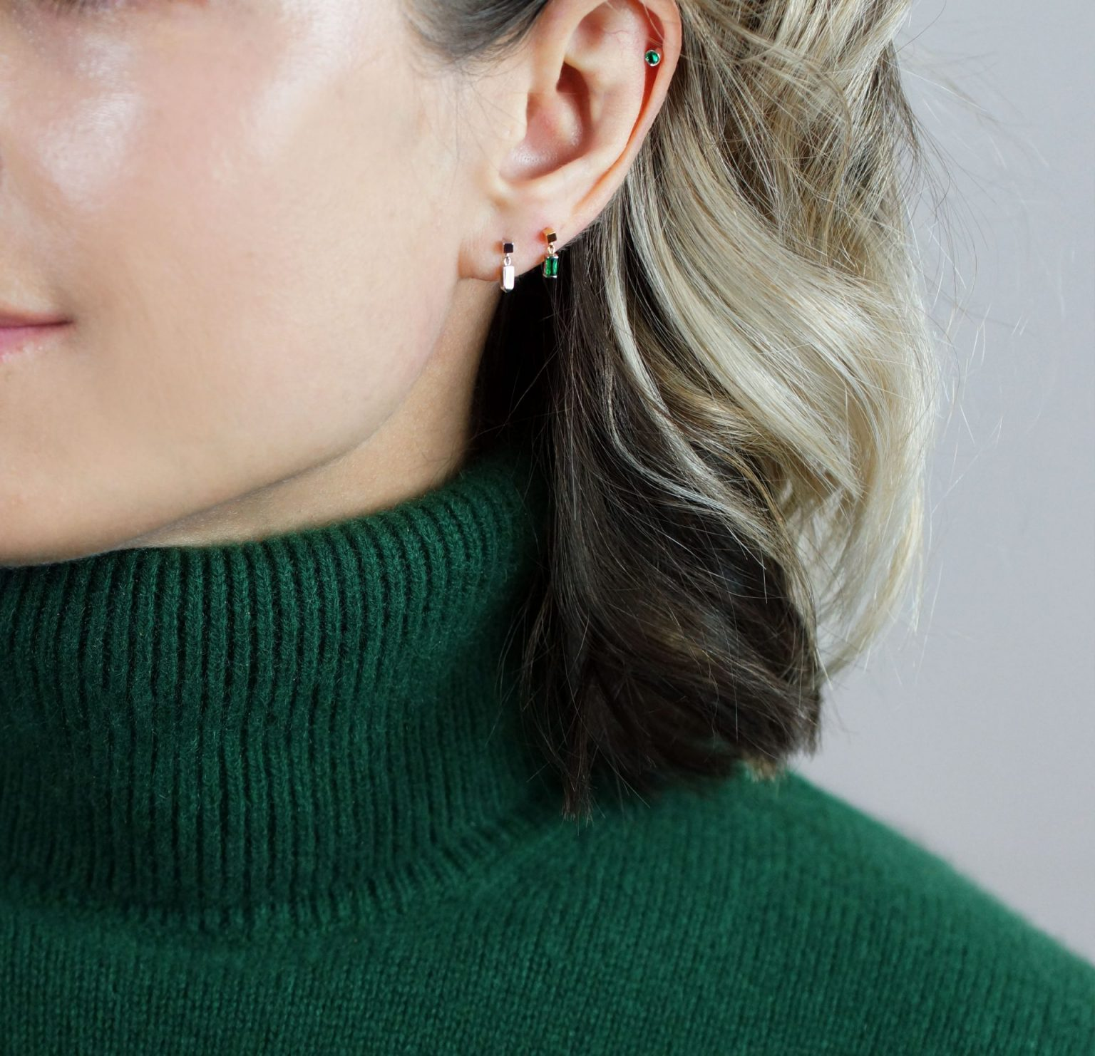 the stylist magazines top 10 luxury piercing jewelry lena cohen helix tragus cartilage earrings