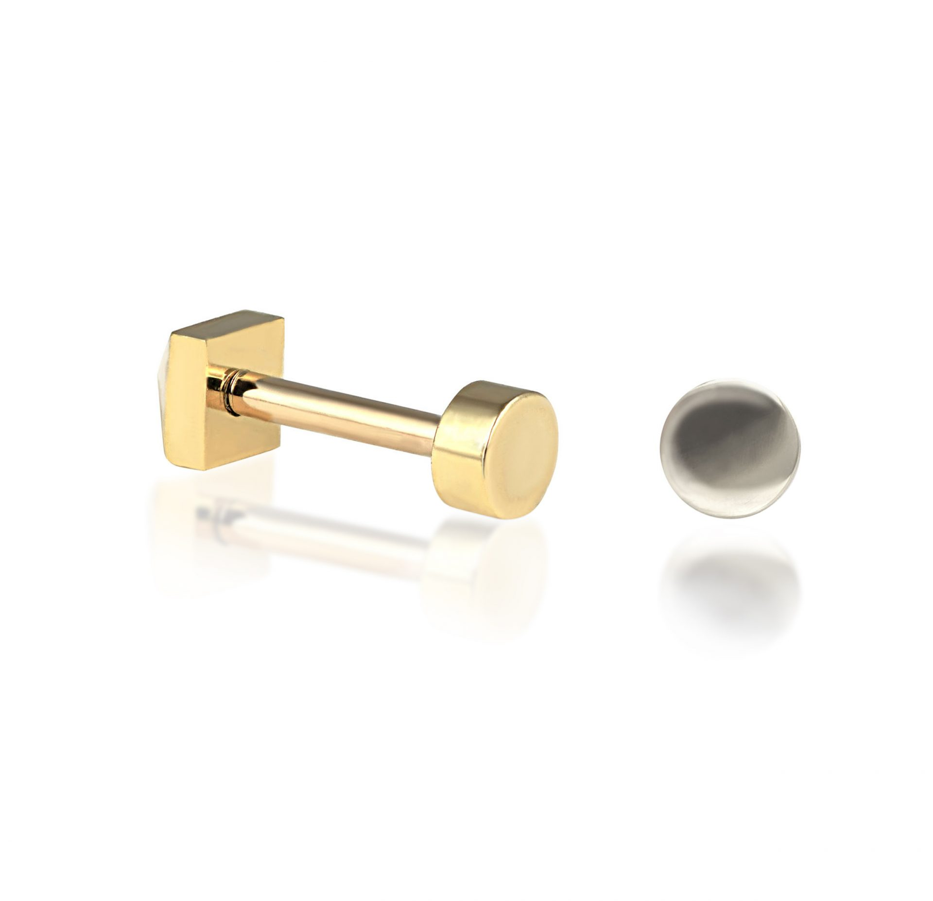 solid-gold-disk–minimalistic-piercing-studs-screw-backs-18k-lena-cohen-london-luxury-piercings-reasonable-prices