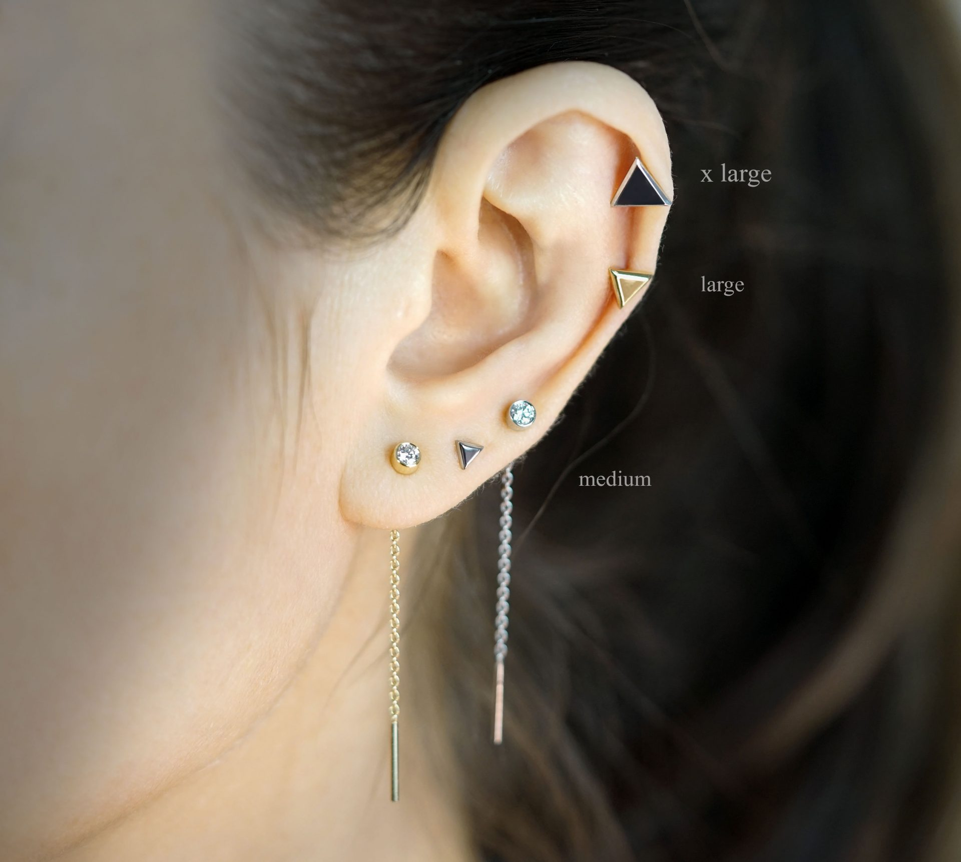 unisex-piercing-jewellery-18k-solid-yellow-white-gold-cartilage-earring-stud-lena-cohen