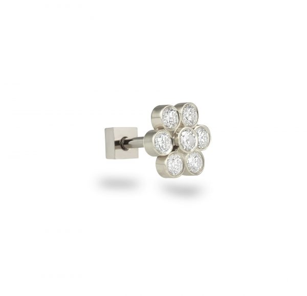 UK Online High End Cartilage Piercings Shop high-quality processing of 18k gold piercing jewellery
