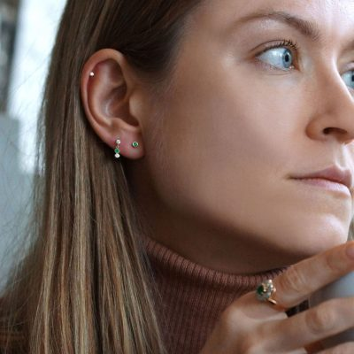These-Helix-Tragus-gold-diamond-emerald-natural-stones-earrings-are-highly-contemporary-yet-can-be-eternal