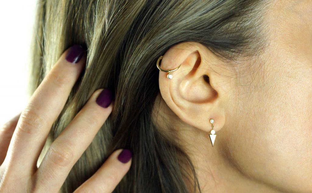 Benefits of wearing earrings. Jewellery Blog. Lena Cohen Luxury Piercings.