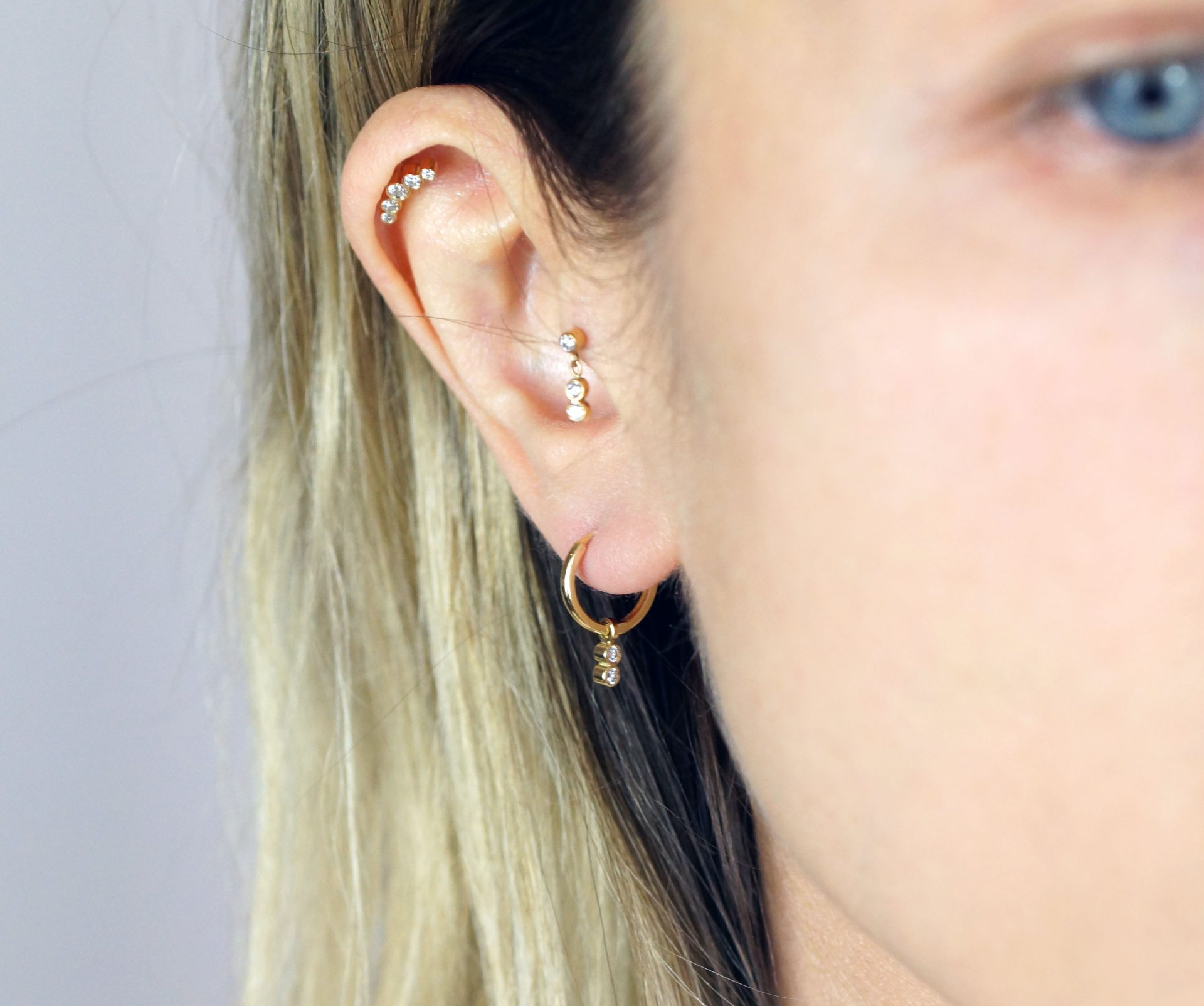 Lena Cohen leading british brand luxury piercing fine jewelry 2020 Ear Piercing Ideas Curate Your Ear