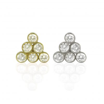 pyramis–six-finest-diamond-piercing–helix-tragus-studs-screw-backs-18k-gold-buy-online-lena-cohen-uk