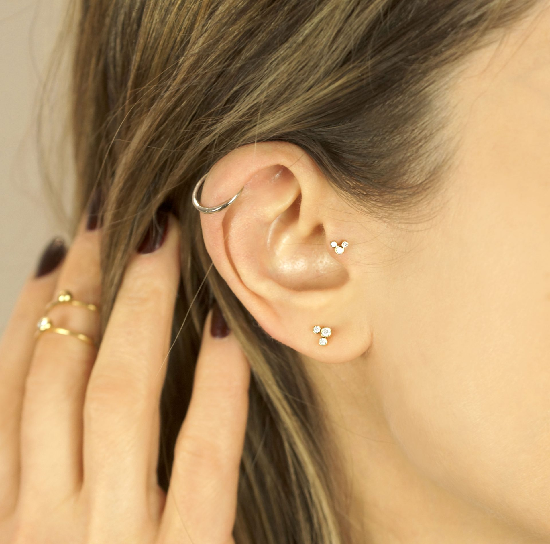 Lena Cohen London British High Quality Cartilage Earrings