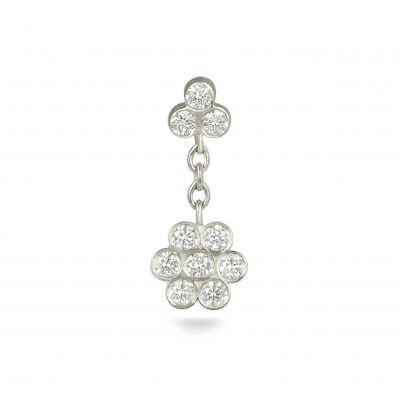 Swinging Ten Diamonds White Flower