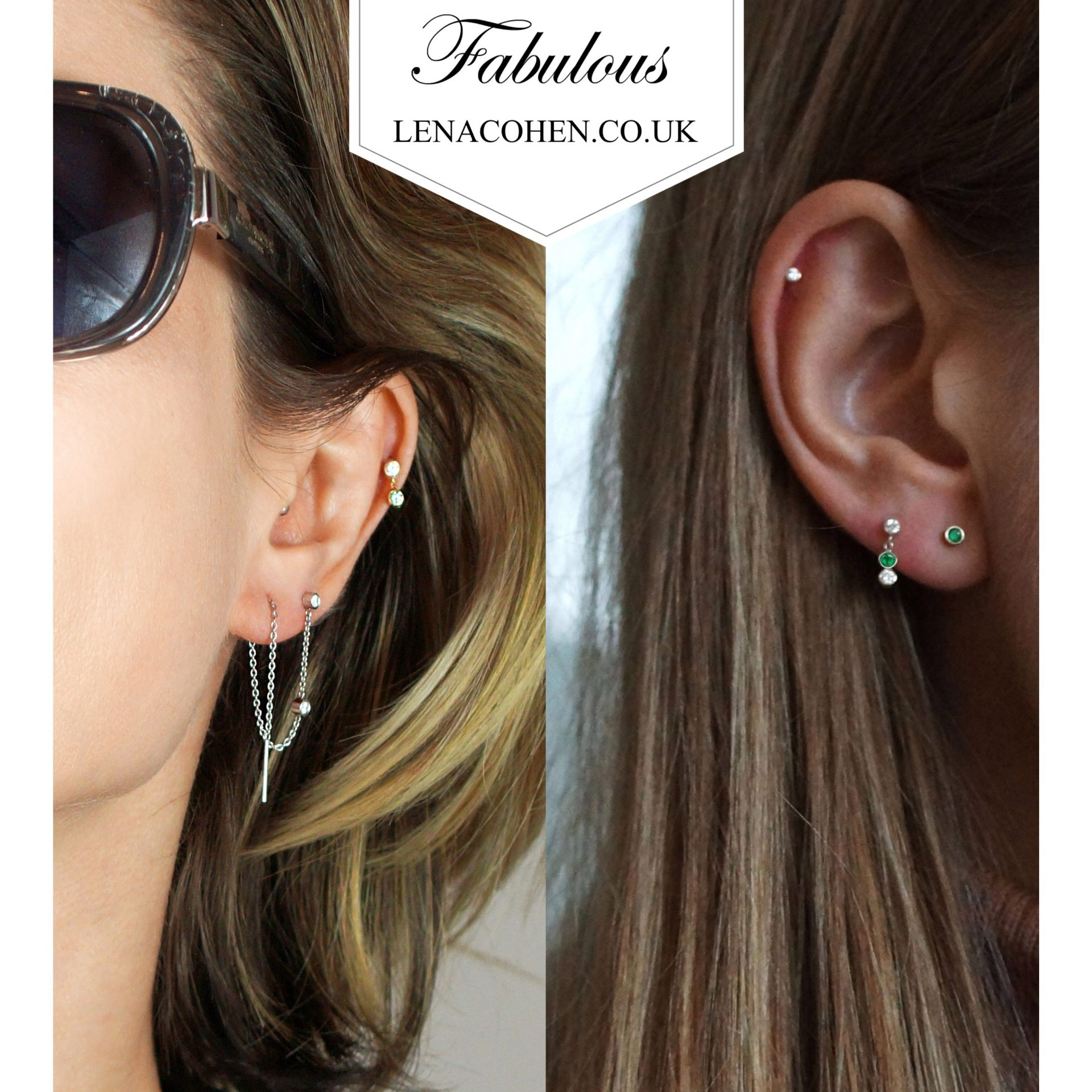 fashionistas find pull through earrings very comfortable to wear