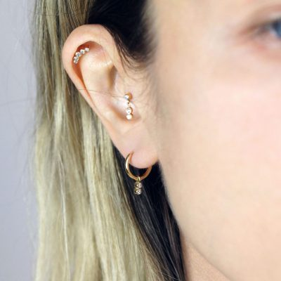 18k-Solid-Gold-Huggie-Hoop-Earring-Diamond-Charm–Luxury-Piercings-Lena-Cohen-London–Cartilage-Earrings