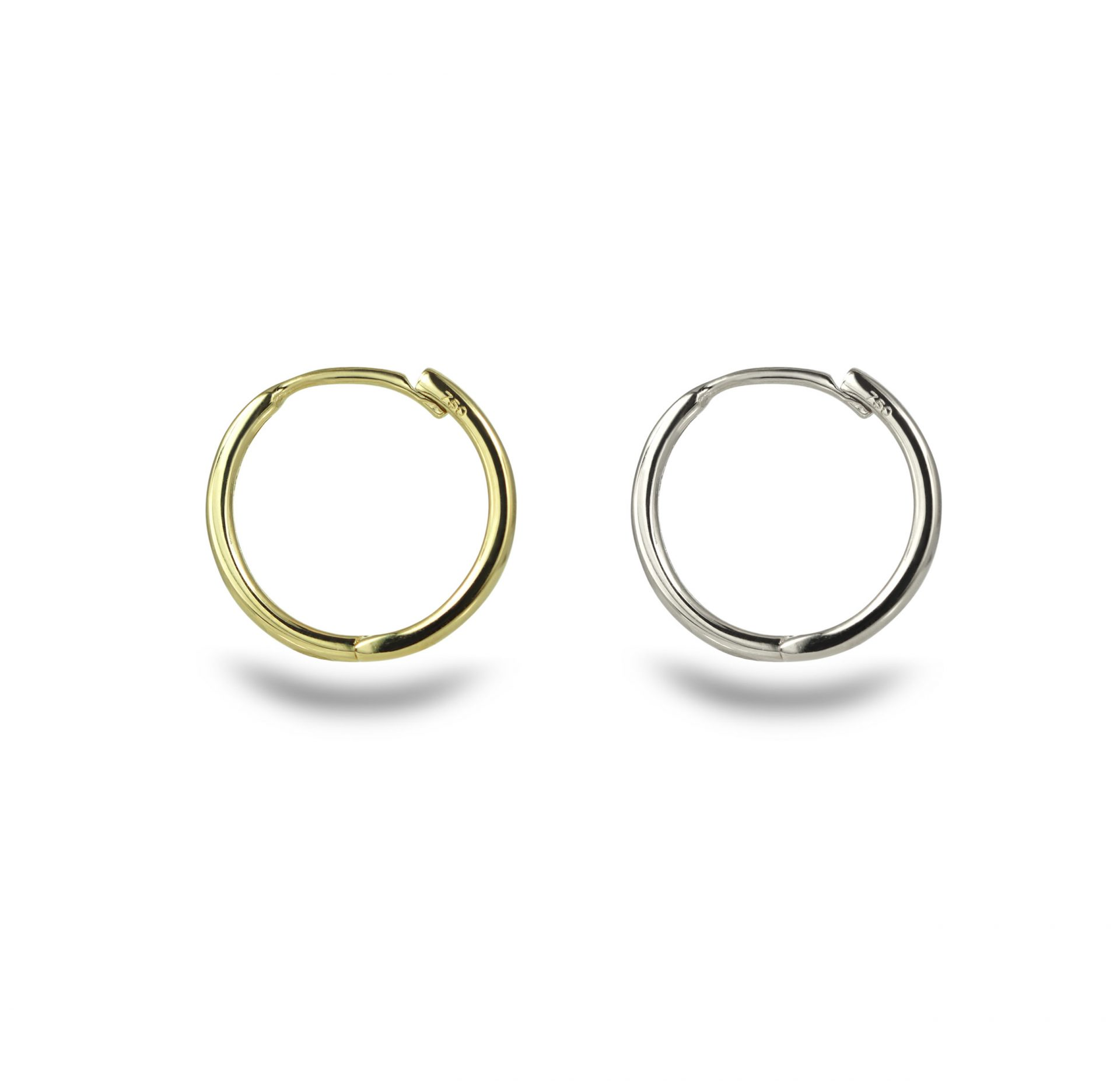 18k-solid-gold-yellow-white-gold–cartilage-earrings-hoops-huggies-lena-cohen-fine-jewellery-london-uk