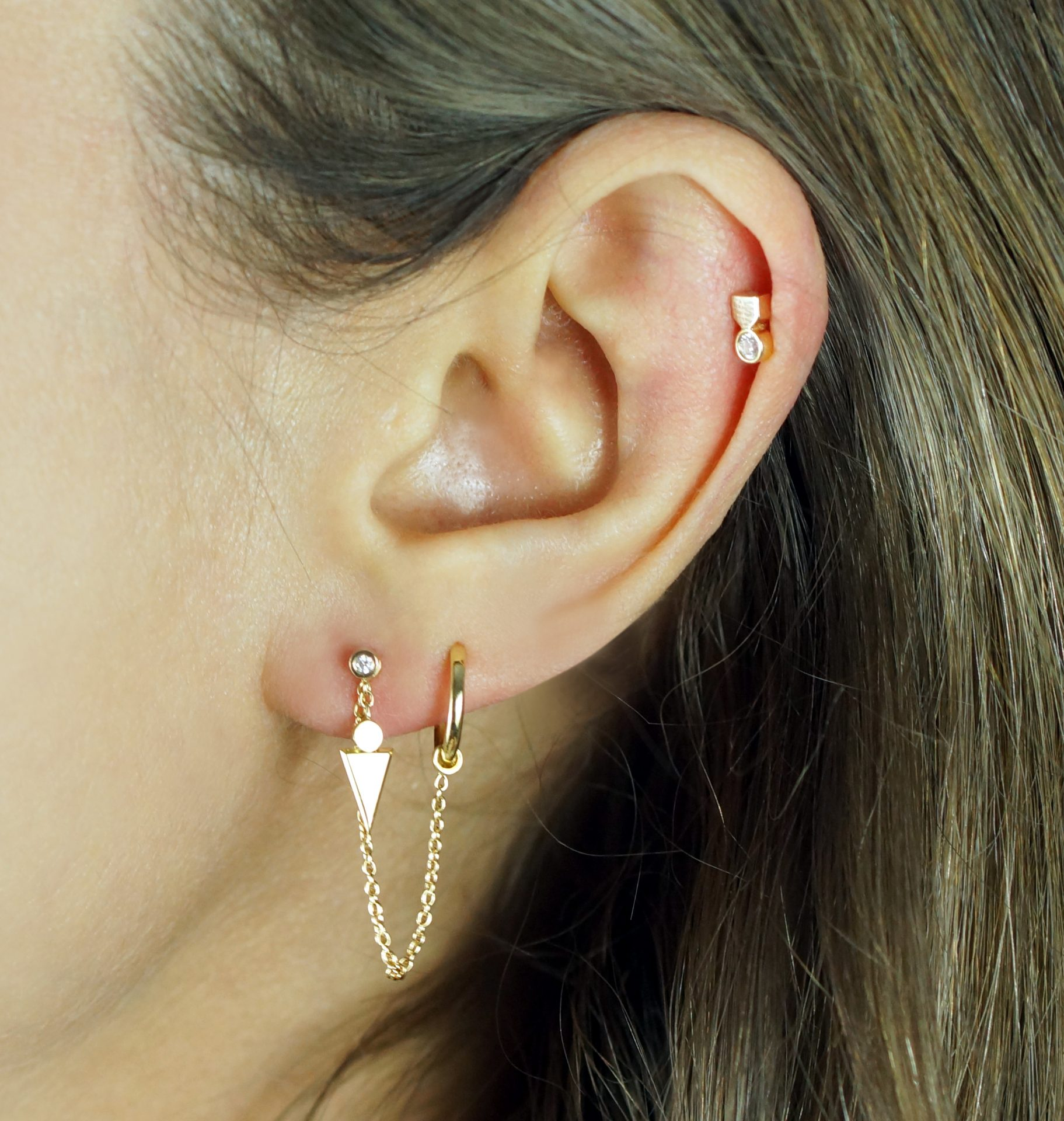 luxury cartilage earrings uk