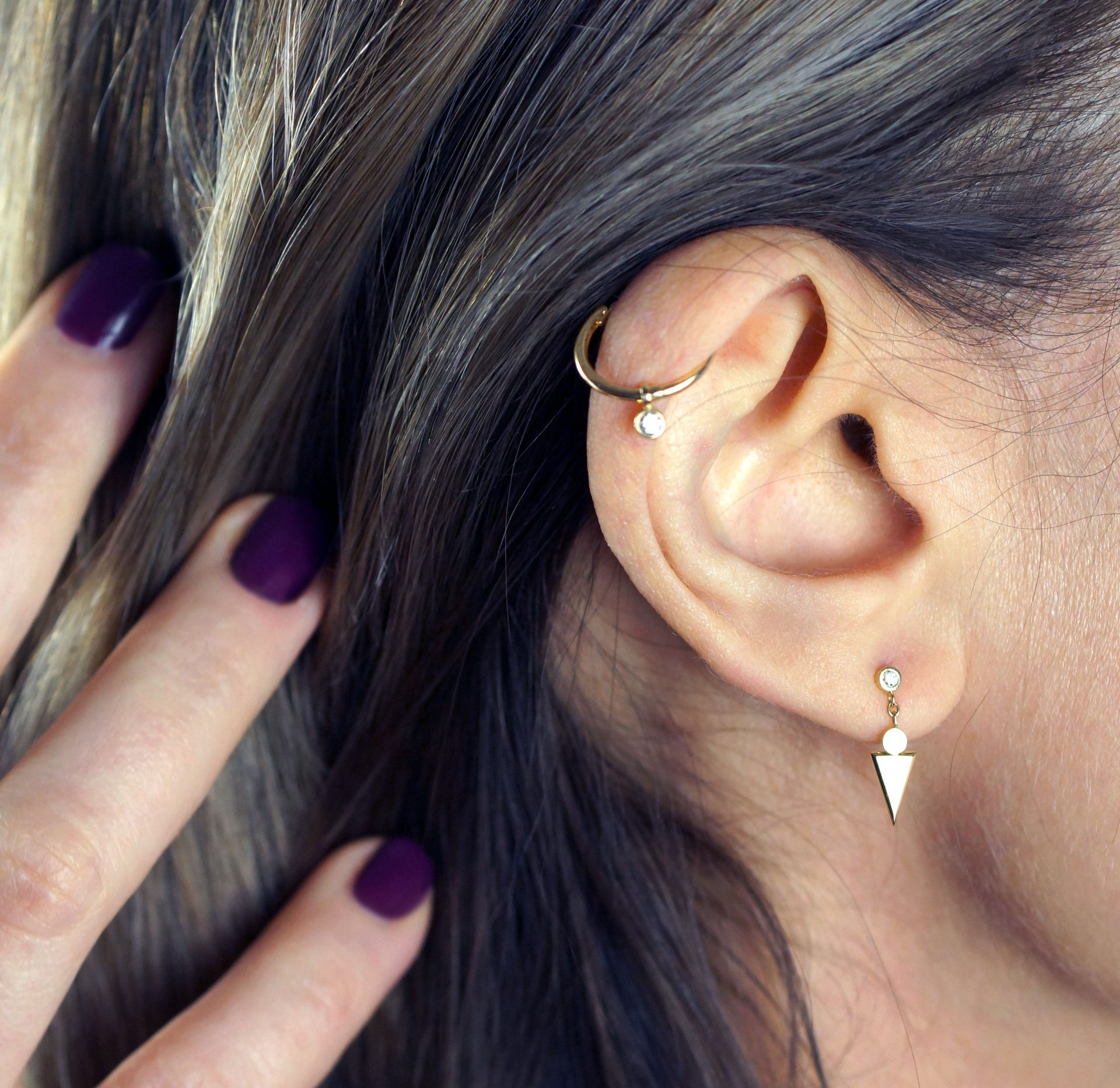 high quality cartilage earrings