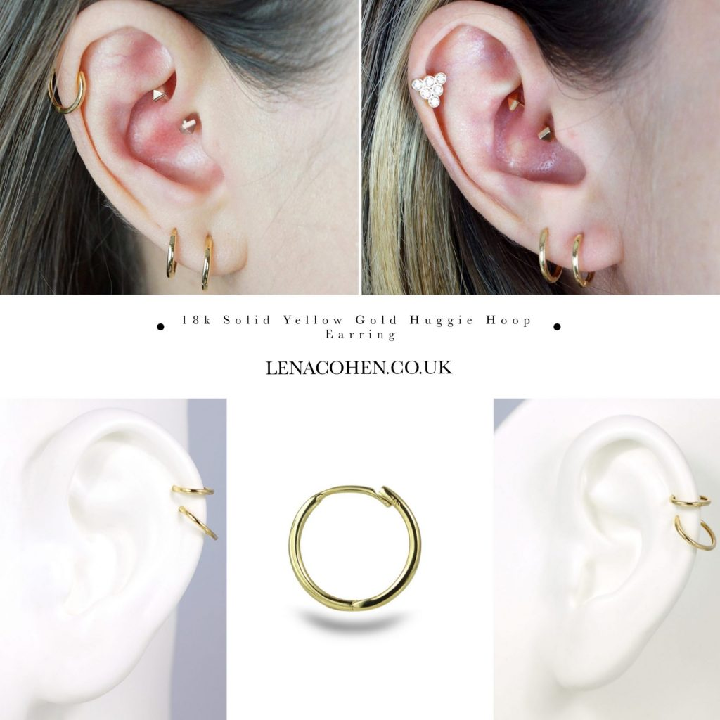 From dainty studs to golden hoops, Lena Cohen Fine Jewellery is a range of luxury piercing earrings to suit every ear design.