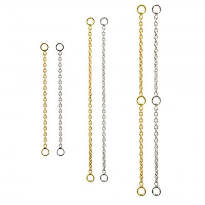 18k Gold Add-On Chain Transformer