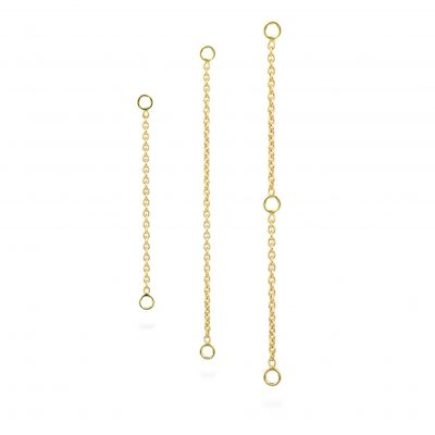 18k Yellow Gold Add-On Chain Transformer
