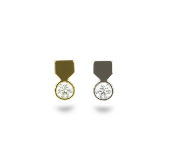 high quality piercing jewelry brands lena cohen designer cartilage earrings 18k gold