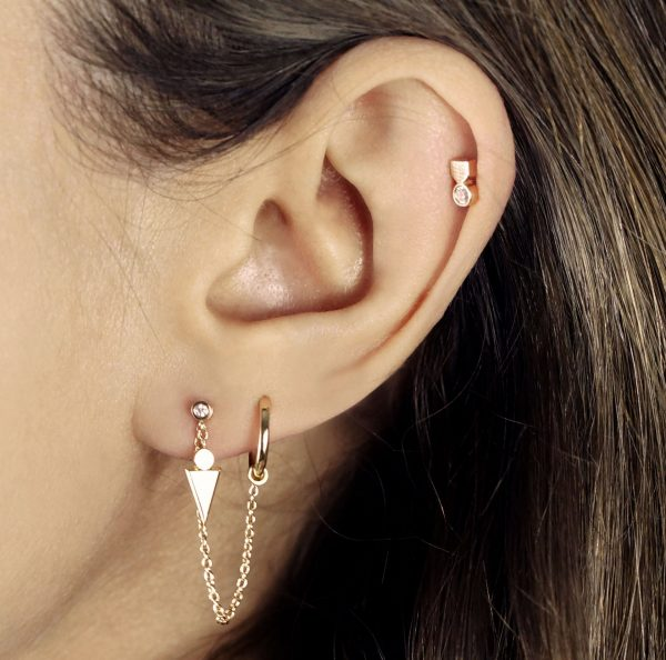 Check out our photo gallery of Cute Ear PiercingTypes,Combinationsand Jewelry for TragusPiercings, Cartilage Earrings, Helix Piercings.