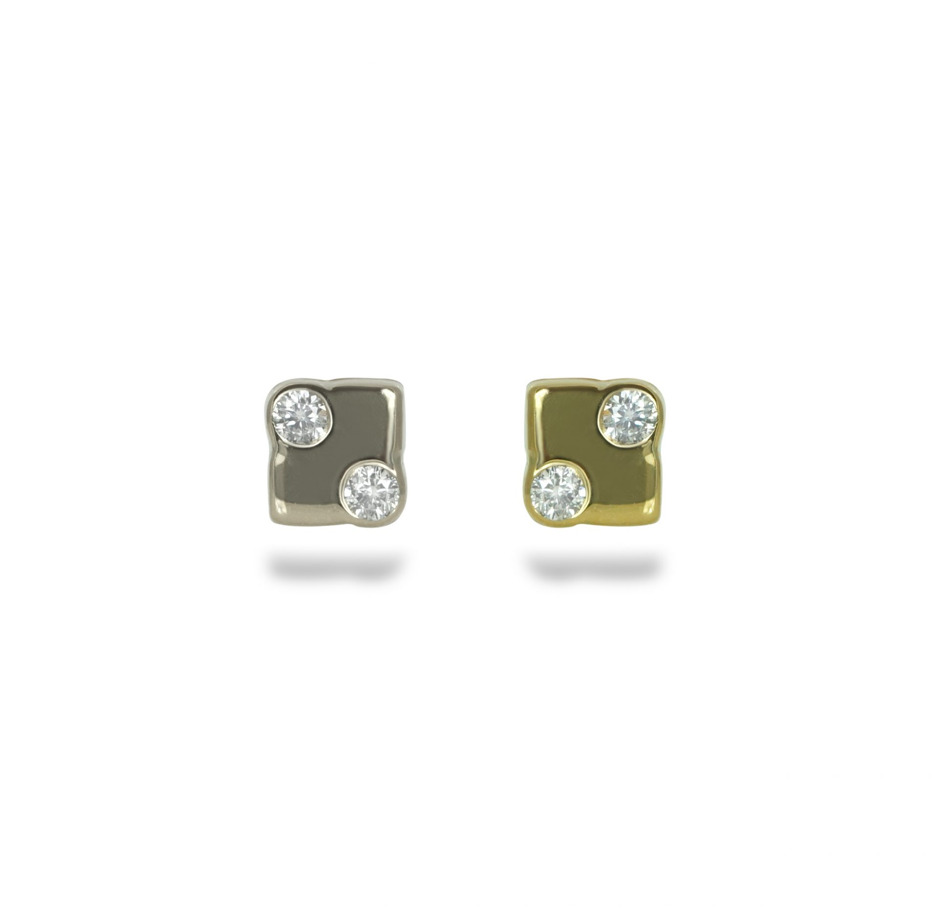 High-Quality-18k-Yellow-Gold-Diamond-Stud-Lena-Cohen-Luxury-Piercing-Jewellery-18k-yellow-white-gold