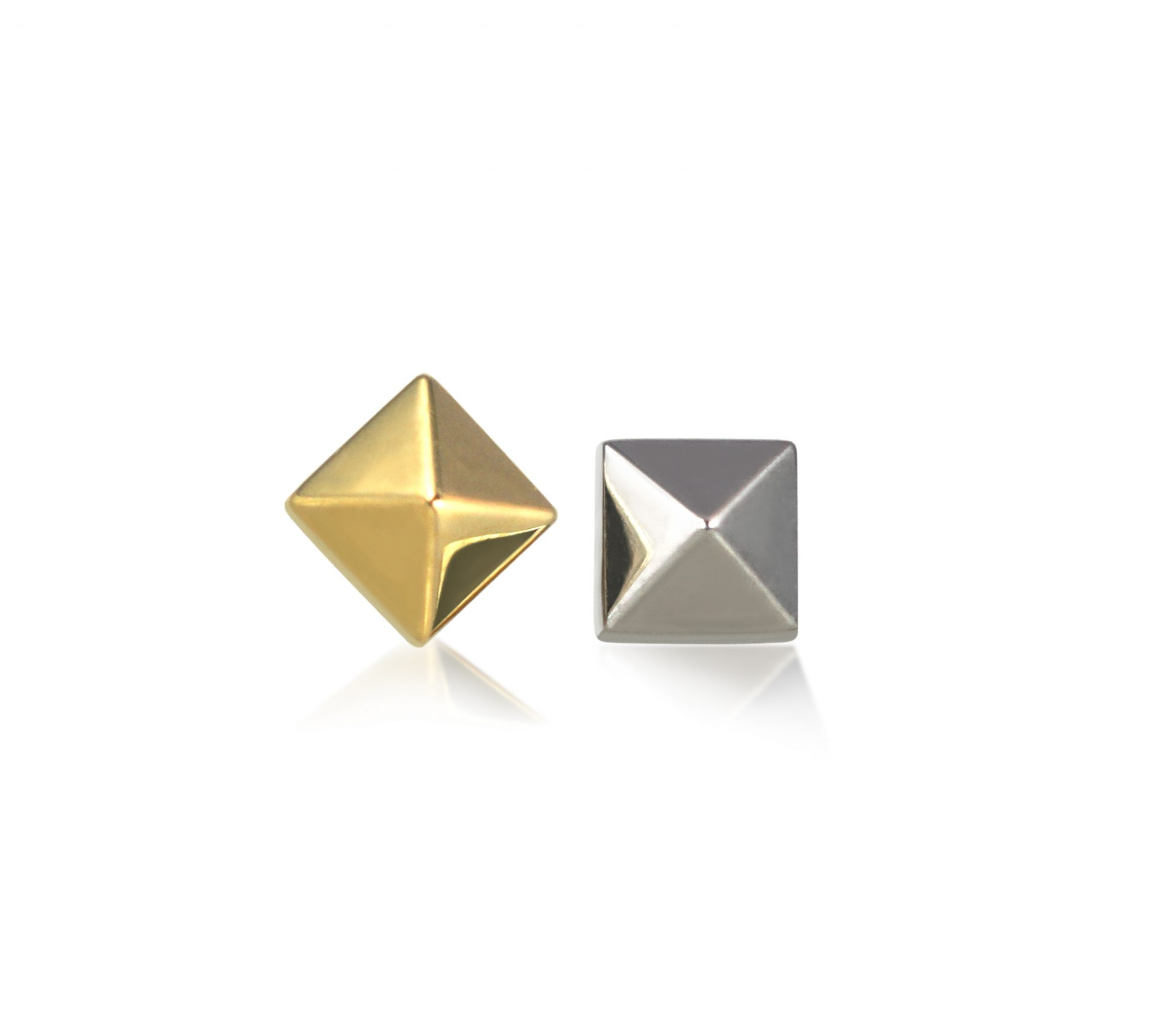 18k-white-yellow-gold-pyramid-screw-back-unisex-piercing-cartilage-stud-lena-cohen