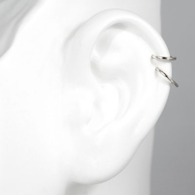 lena-cohen-london-clicker-18k-white-gold-single-hoop-huggie-earring