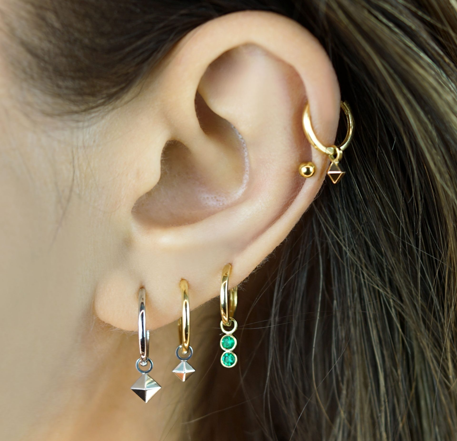 solid-18k-gold-pyramid-shape-charms-for-huggie-hoop-earrings-lena-cohen-luxury-piercing-jewellery-london (2)