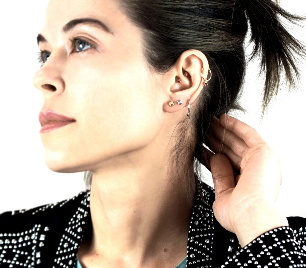 minimalistic geometric designs luxury ear piercing ideas extravagant lena cohen london british desigher