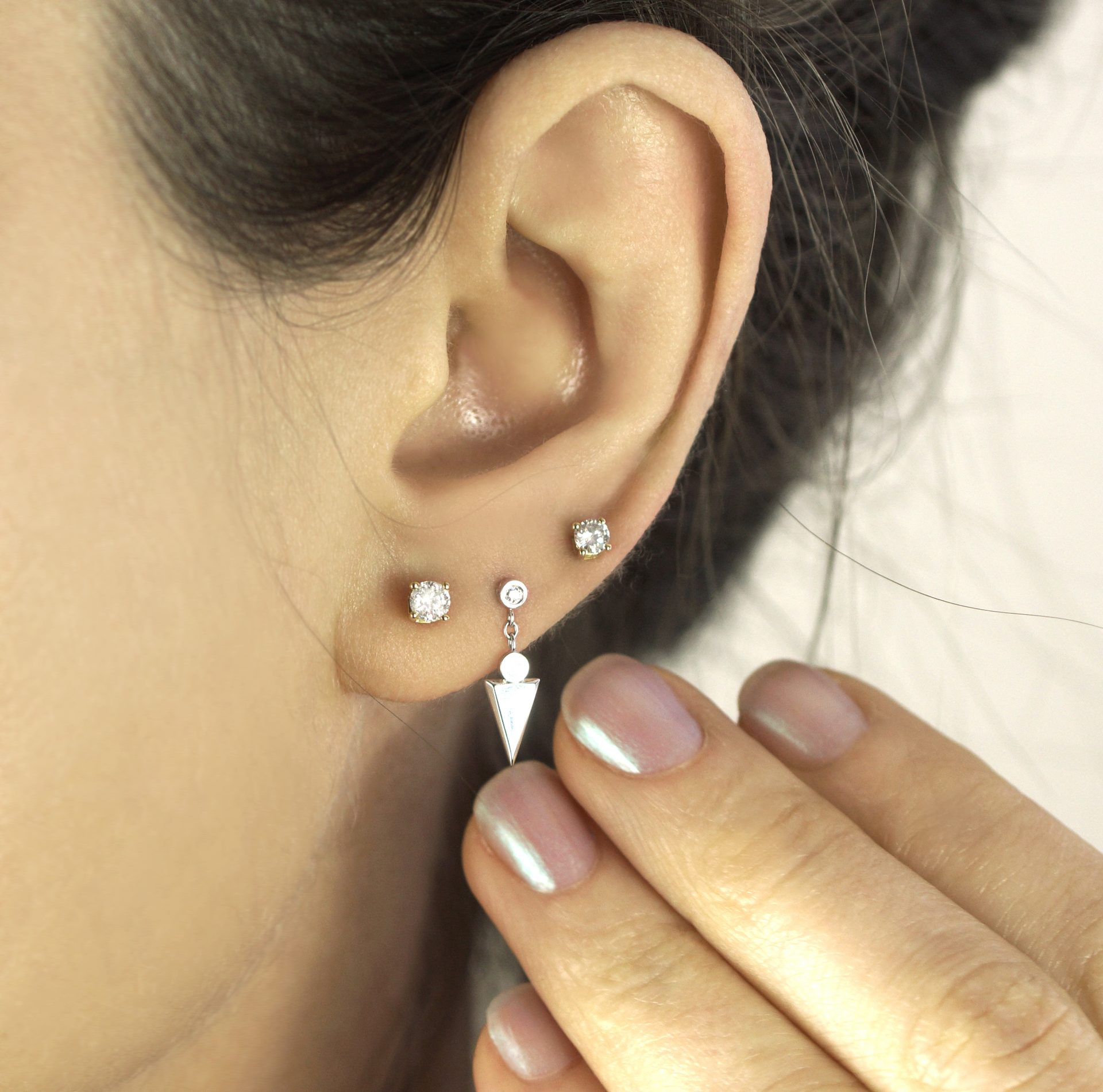 Multiple piercings have become a global trend