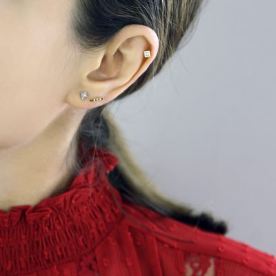 Multiple-piercings-classy-but-yet-modern-ear-styling-lena-cohen-london