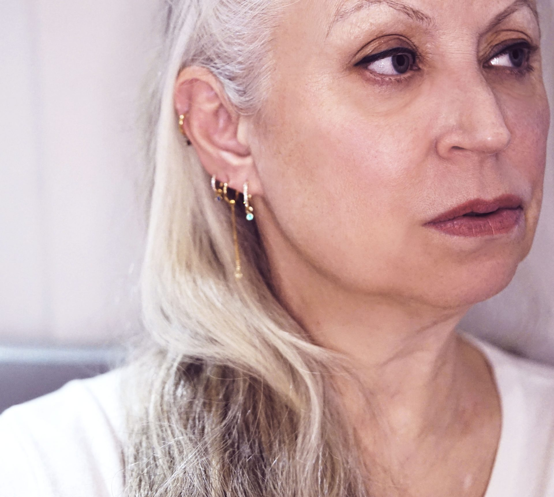 ARE YOU TOO OLD TO WEAR MULTIPLE EAR PIERCINGS?