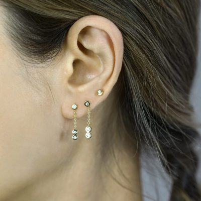 Diamond-Drop-Piercing-Earring-sophisticated-cartilage-earring-18k-gold-natural-diamonds-lena-cohen