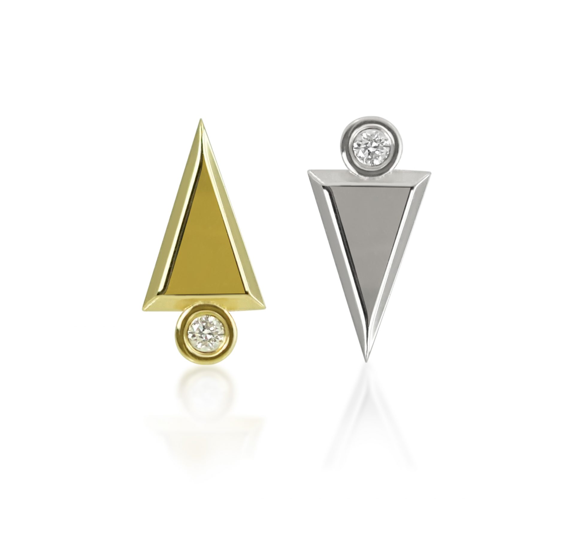 art-deco-desiner-cartilage-piercing-earring-screw-back-18k-white-yellow-solid-gold-lena-cohen