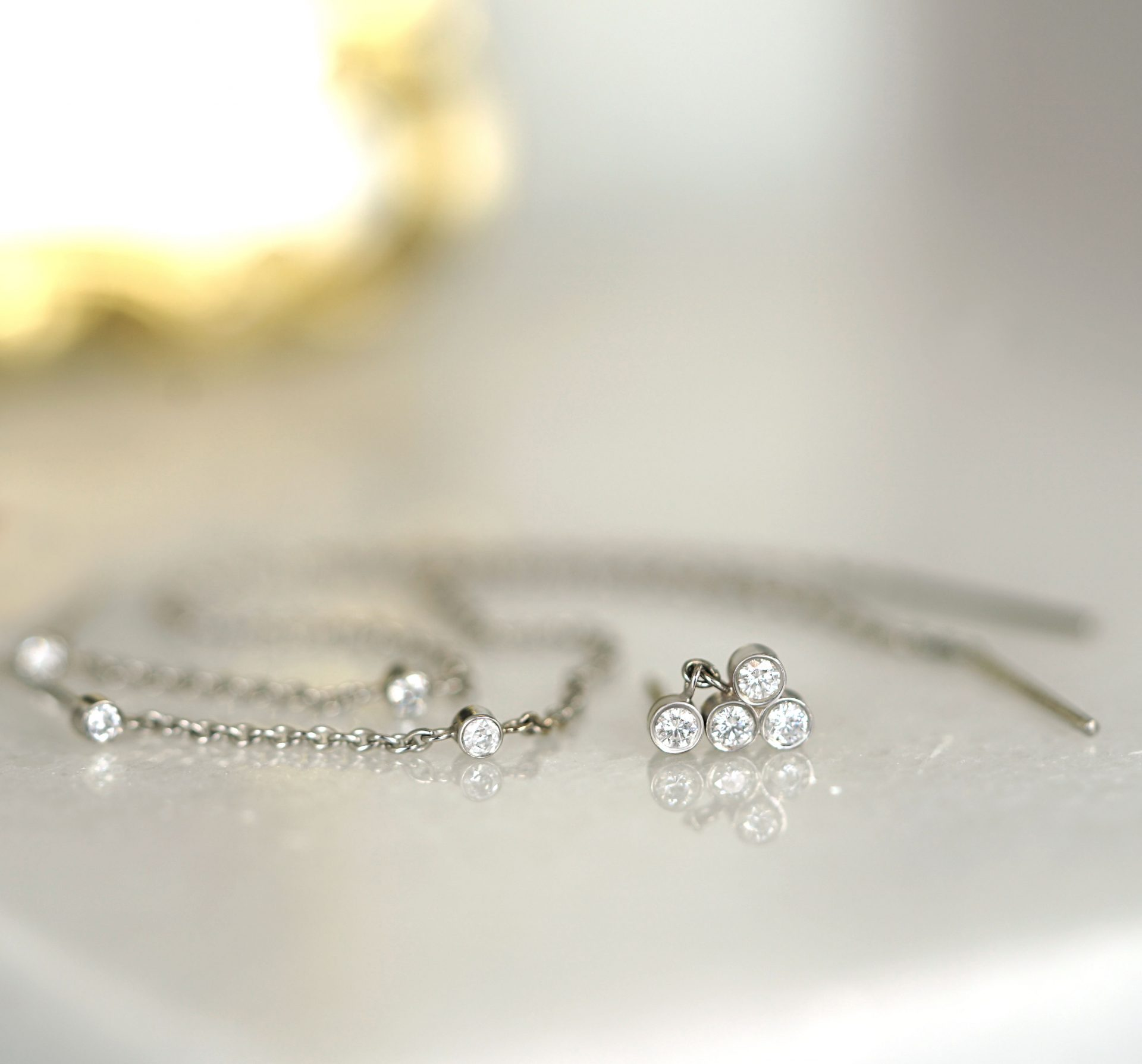 Small-Luxury-Valentines-Day-Gifts-for-Her-18k-Solid-Gold-Piercing-Earrings-Set-Price-Lena-Cohen