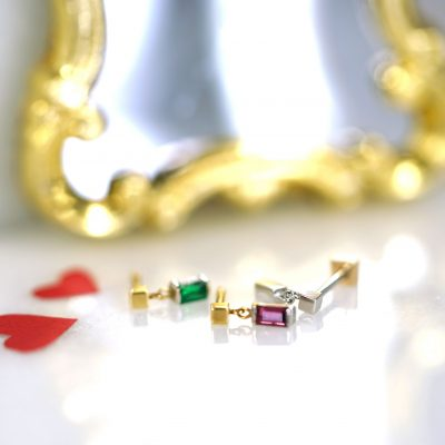 natural-emerald-ruby-piercing-earrings-Valentine's-Day-gift-ideas-for-women-set-price