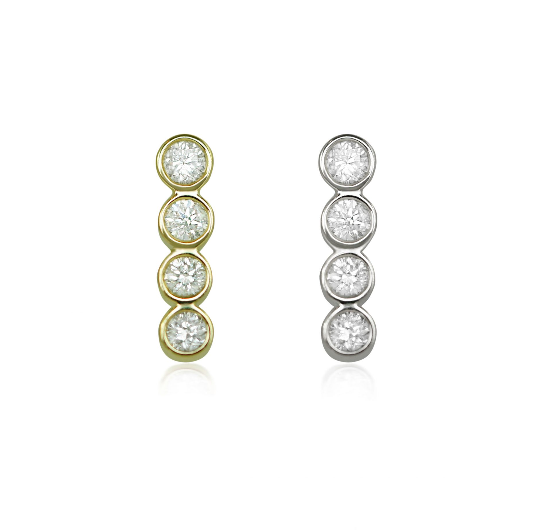 piercing-cartilage-earring-vertical-bar-diamond-yellow-white-18k-solid-gold-stud-lena-cohen