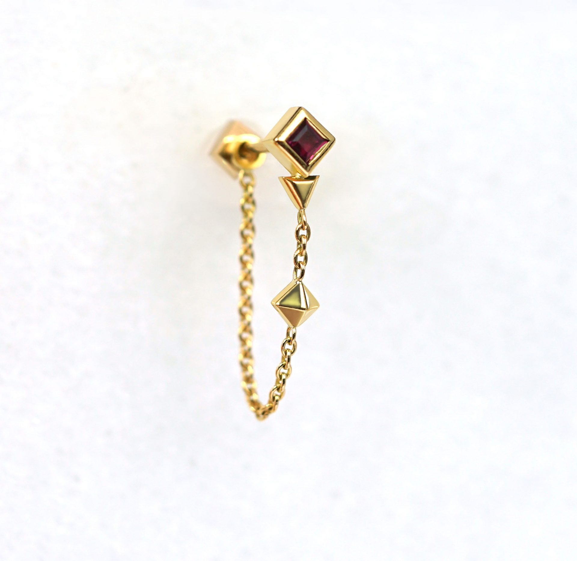 Red-Ruby-Sagittarius-Cartilage-Earring-Birthday-Gift-Sagittarius-18k-Solid-Gold–Astrology-Sign-Lena-Cohen-British-Designer