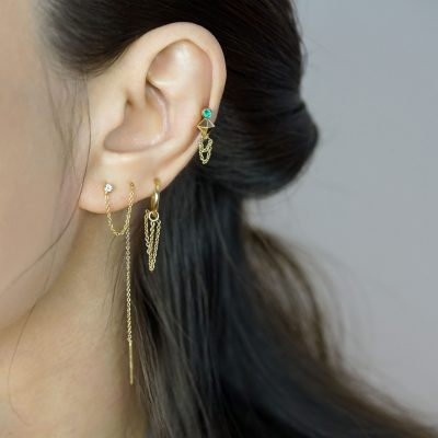 ear-stack-lena-cohen-luxury-piercing-taurus-zodiac-sign-18k-solid-gold-natural-emerald-earring