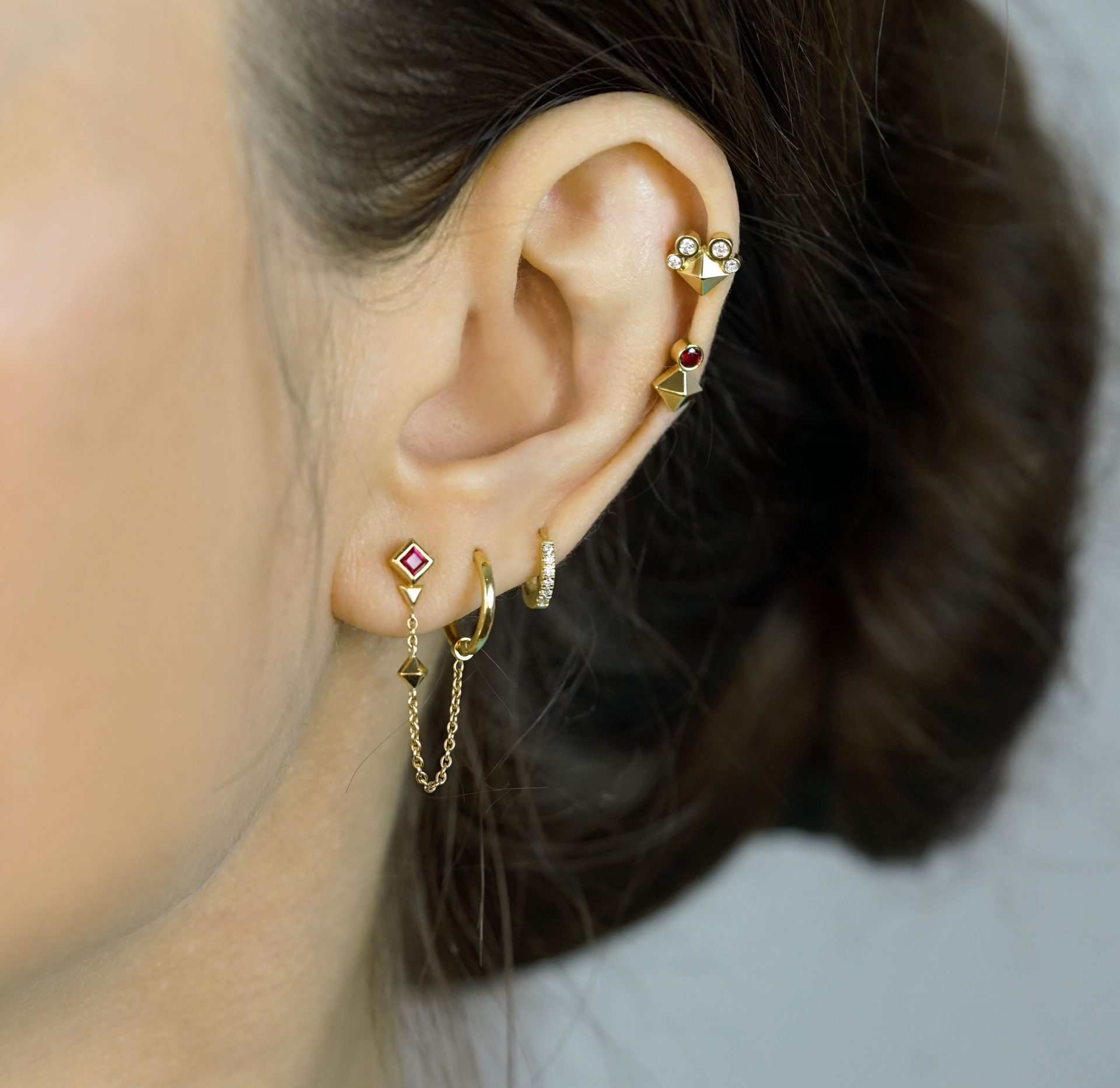 lena-cohen-fine-jewellery-british-designer-zodiac-collection-earrings-aries-leo-sagittarius-astrology-signs-piercing-ear-stack