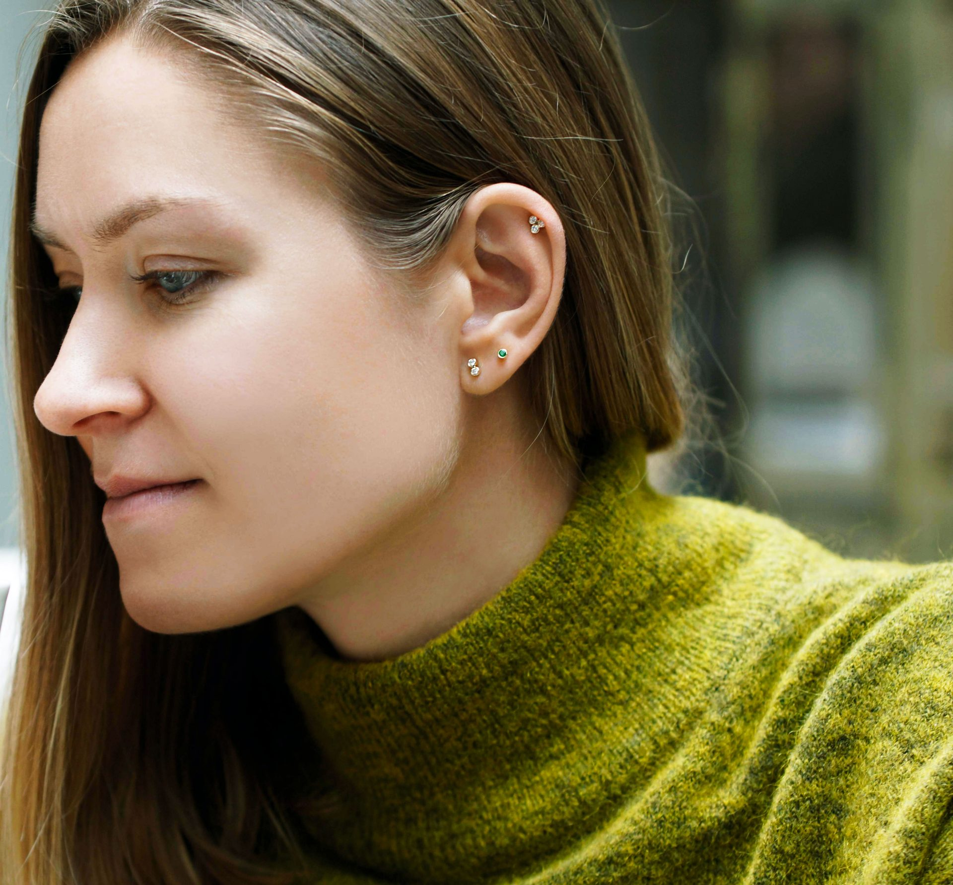 Stacked Ear Piercings That Will Inspire You.