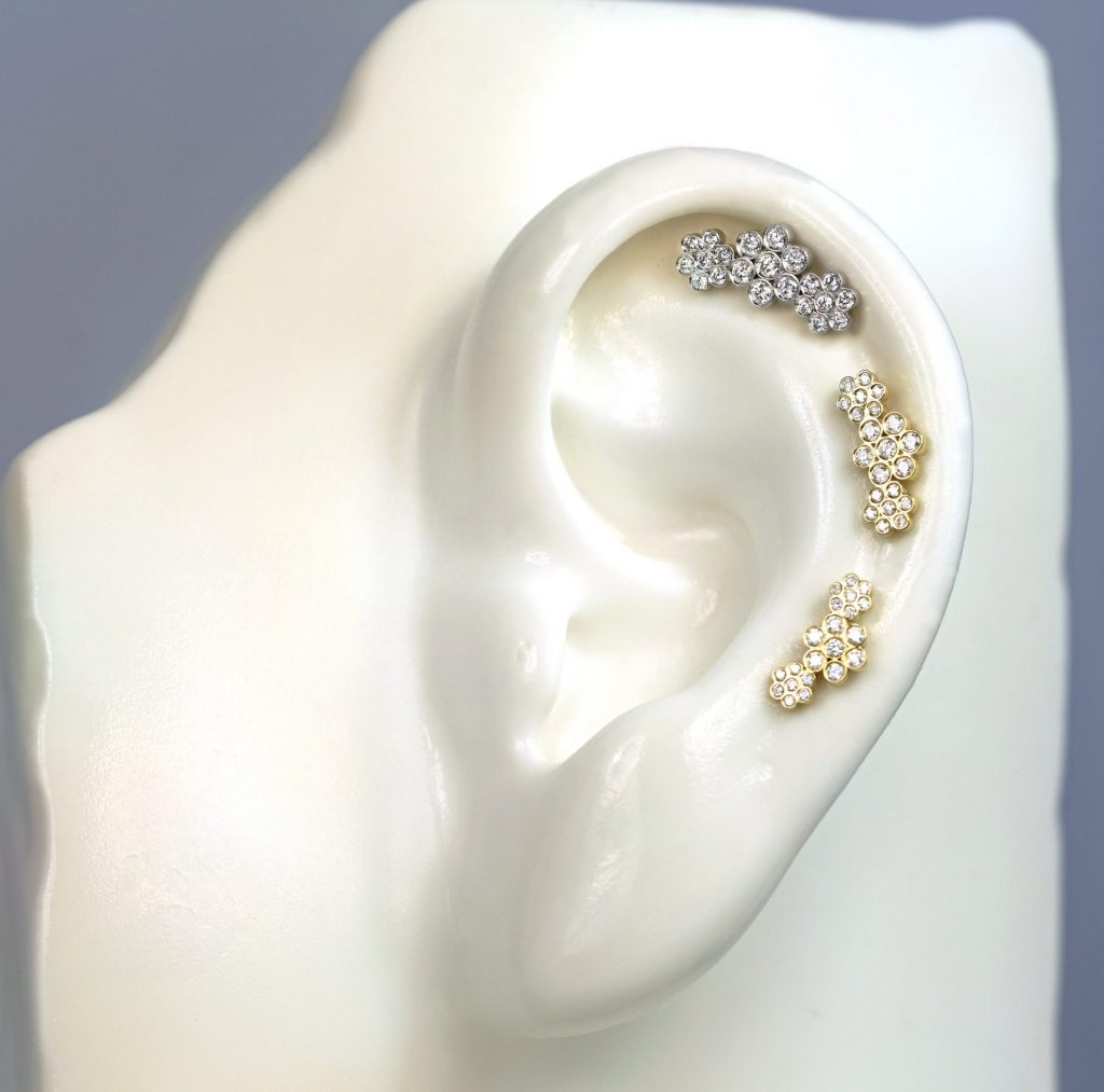 Lena Cohen Jewellery Blog | Curated Ear Ideas | Fine Piercing Earrings | Ear Stack Inspiration