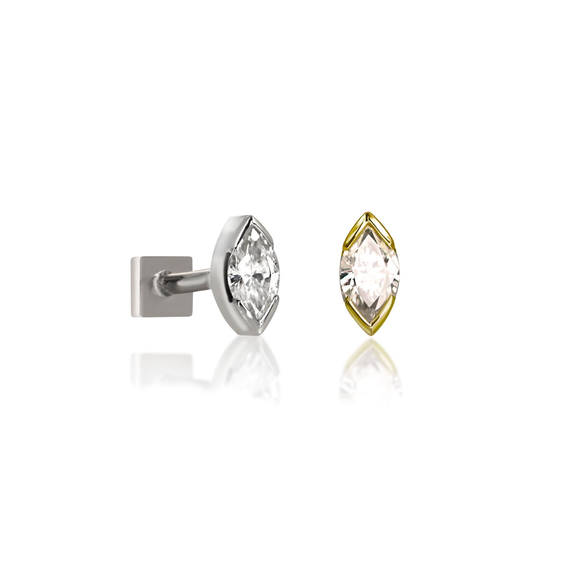 lena-cohen-luxury-ear-piercings-18k-solid-gold-natural-marquise-shaped-diamond-cartilage-stud-earring